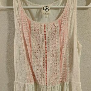 One September Tops - Lacey Anthropologie Sleeveless Blouse